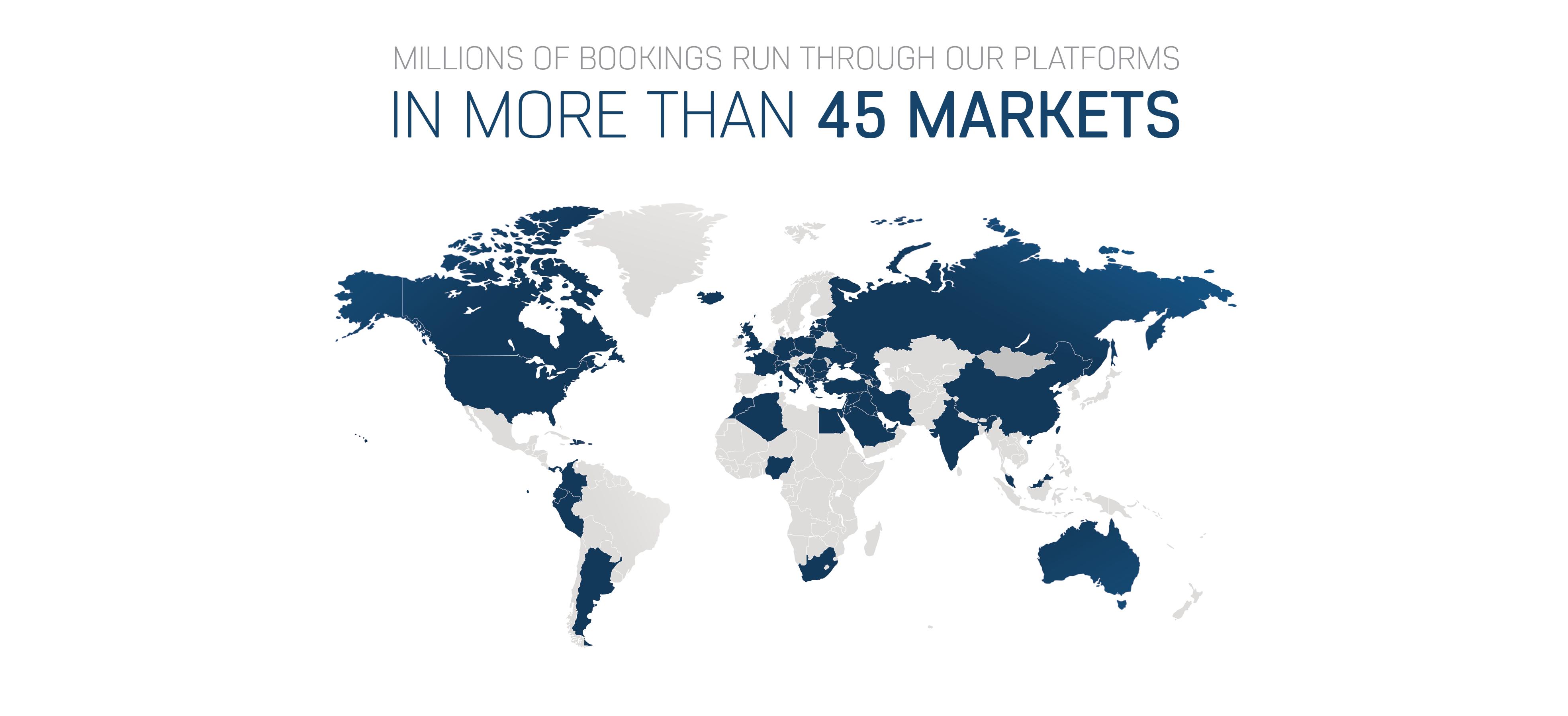 45 Markets