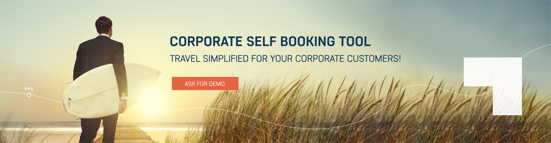 Corporate Self Booking Tool Features