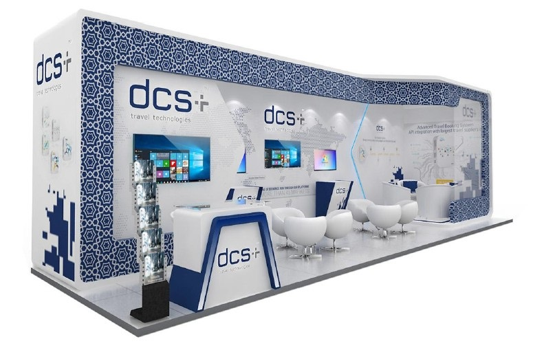 dcs plus stand ATM Dubai