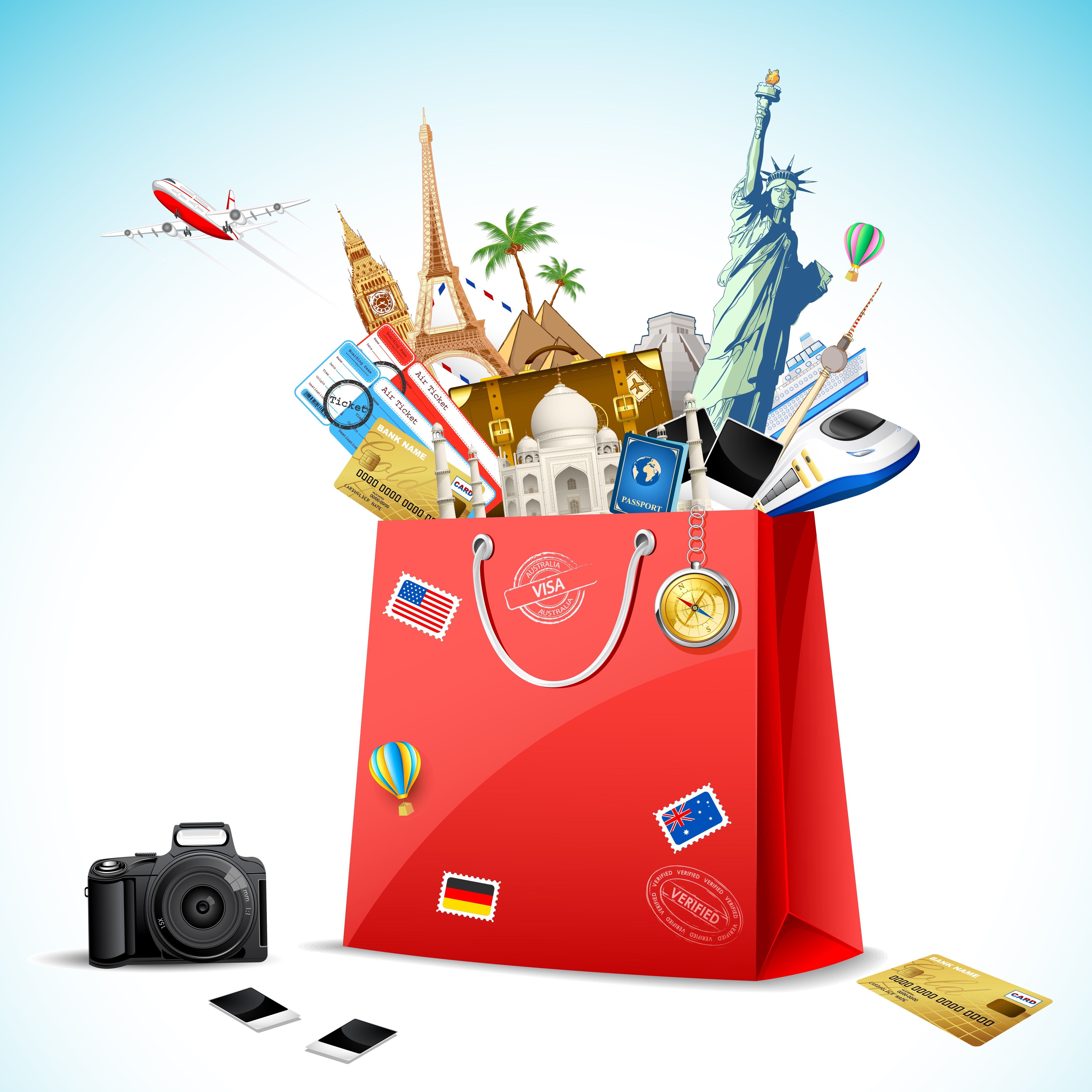 Shopping basket for tour operatos