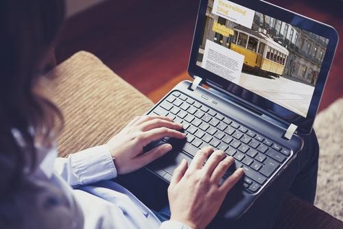 A travel blog helps inbound marketing create travel website traffic
