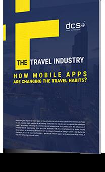 Mobile app changing travel habits