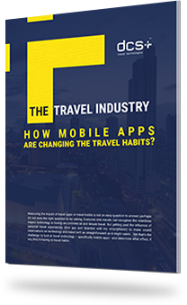 Mobile app changing travel habits