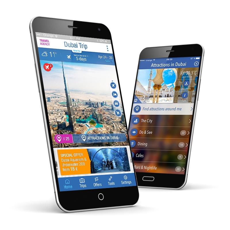 TravList mobile app