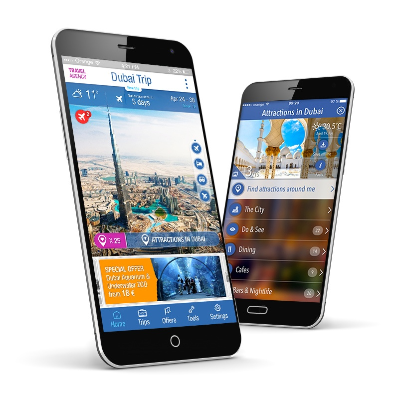 TravList smart tavel app