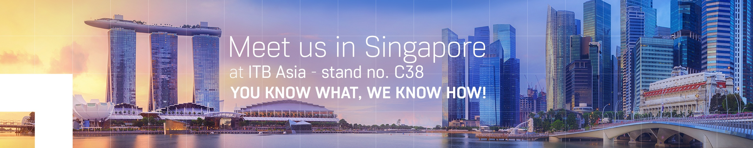 ITB Asia 2018 - stand C38