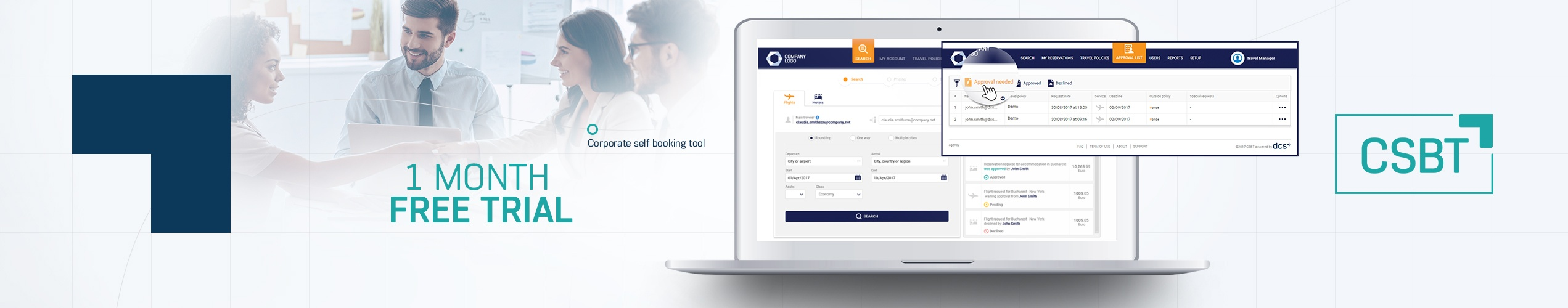 CSBT - Corporate Self Booking Tool