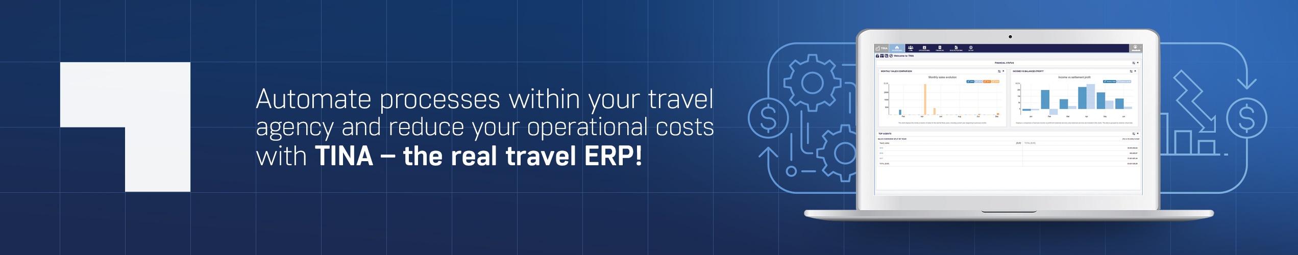 TINA travel ERP