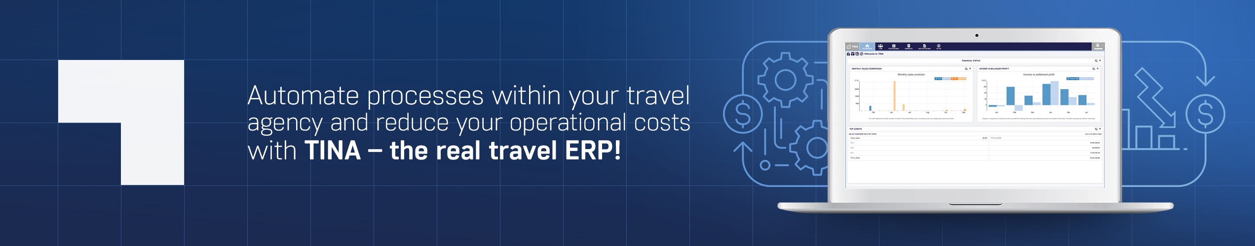 TINA travel ERP
