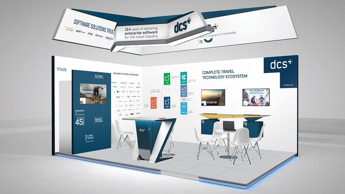 dcs plus stand WTM London - TT420