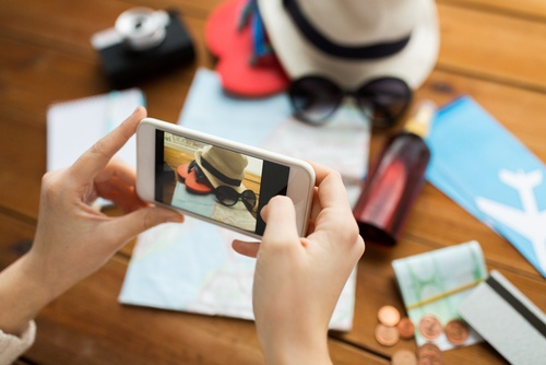 travelers and mobile devices