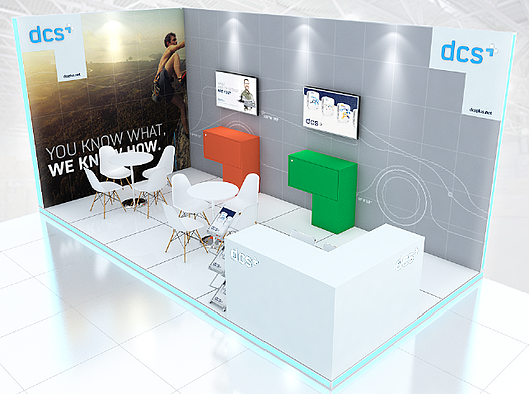 dcs plus stand ITB Asia