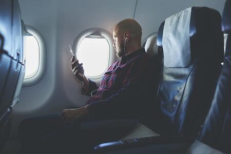 Travel Mobile App flight alerts