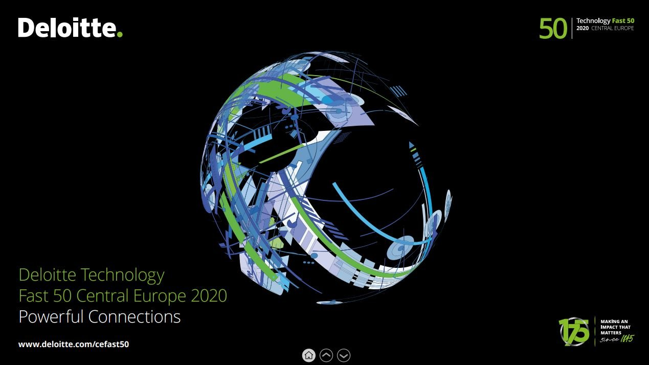 dcs plus is recognized by Deloitte 2020 Central Europe Technology Fast 50