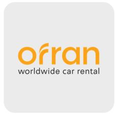Ofran Car Rental Logo Irix
