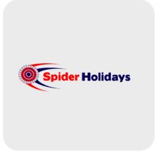 Spider Holidays logo Irix