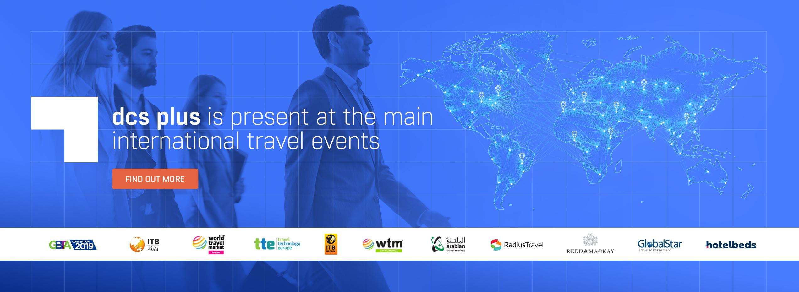 dcs plus presence at international events